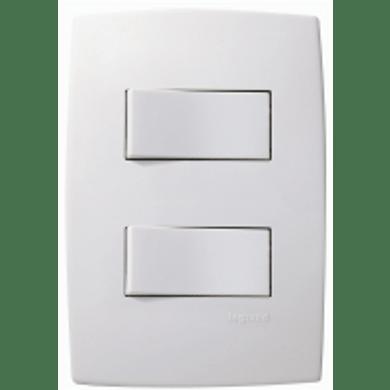 Interruptor-de-Embutir-com-1-Tecla-Simples---1-Tecla-Paralela-10A-Horizontal-