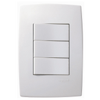 Interruptor-de-Embutir-com-3-Teclas-Simples-10A-Horizontal-Pial-Plus