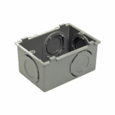 Condulete-de-PVC-Multiplo-L-Sem-Rosca-Cinza-Escuro---1-2-Polegada