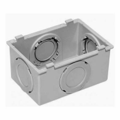 Condulete-PVC-Multiplo-X-Sem-Rosca--Cinza-Escuro---Bitola-3-4