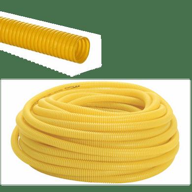 Conduite-PVC-Corrugado-Medio-Amarelo---3-4-polegada