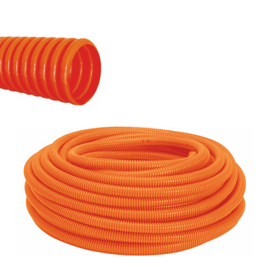 Conduite-PVC-Corrugado-Reforcado-Laranja---1-2-polegada
