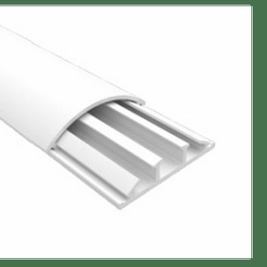 Cigame canaleta pvc para piso 52x14x2000mm cinz - Canaleta de pvc ...