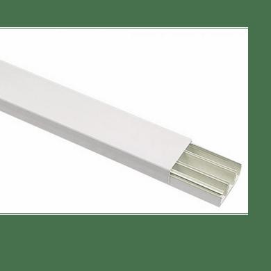 Cigame canaleta pvc sistema x 20x10x2000mm branc - Canaleta de pvc ...