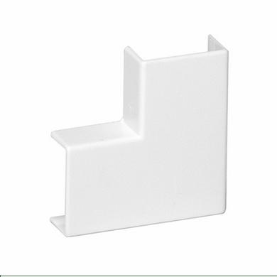 Cotovelo-para-Canaleta-PVC-Sistema-X-50x20-Branca