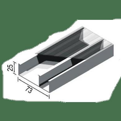 Canaleta-Aluminio-Dupla-Tipo-D-73x25x3000mm-Branca