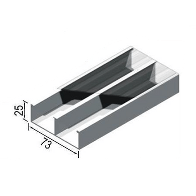 Canaleta-Aluminio-Dupla-Tipo-C-73x25x3000mm-Bege