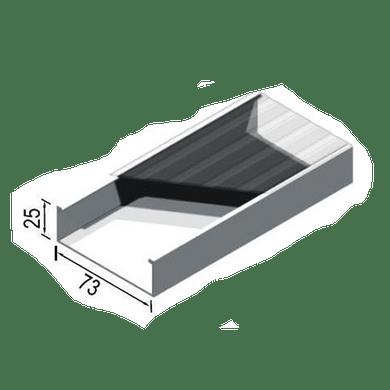 Canaleta-Aluminio-Simples-73x25x3000mm-Branca