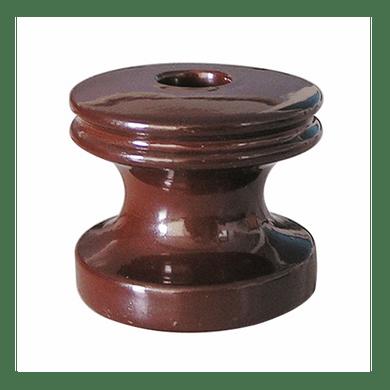 Isolador-Carretel-de-Porcelana-
