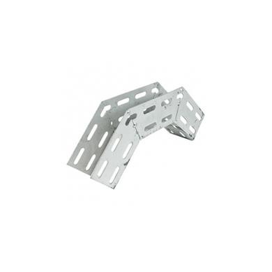 Curva-para-Eletrocalha-Galvanizada-Eletrolitica-Perfurada-Vertical-Externa-90º