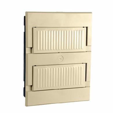 Centro-de-Distribuicao-em-PVC-de-Embutir-13-Disjuntores-Din-Branco-Com-Porta-Branca-Sem-Barramento-100A-Centro-de-Distribuicao-em-PVC-de-Embutir-13-Disjuntores-Din-Branco-Com-Porta-Branca-Sem-Barramento-100A