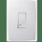 Pulsador-para-Minuteira-com-Luz-com-1-Tecla-Simples-2A-Vertical-Pial-Plus