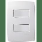 Interruptor-de-Embuti-com-2-Teclas-Simples-10A-Horizontal-Pial-Plus