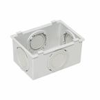 Condulete-de-PVC-Multiplo-X-Sem-Rosca-Cinza-Escuro---3-4-Polegada