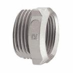 Bucha-de-Reducao-de-Aluminio-para-3-4--Cinza---1-1-2-Polegada