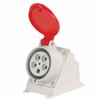 Tomada-Blindada-de-Sobrepor-de-5-Polos-para-380-440V-6h-Vermelho-IP44---16A