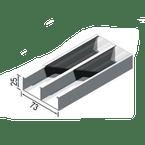 Canaleta-Aluminio-Dupla-Tipo-C-73x25x3000mm-Anodizado-Fosco