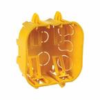 Caixa-de-Derivacao-em-PVC-Para--Gesso-4x4-Com-Orelha-PVC-Amarelo-Caixa-de-Derivacao-em-PVC-Para--Gesso-4x4-Com-Orelha-PVC-Amarelo