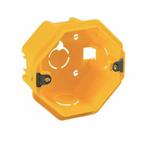 Caixa-de-Derivacao-em-PVC-Para--Parede-4x4-Fundo-Movel-Com-Orelha-Metalica-Preta-Caixa-de-Derivacao-em-PVC-Para--Parede-4x4-Fundo-Fixo-Com-Orelha-PVC-Preta