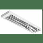 Luminaria-Comercial-2x16-18-20W-de-Sobrepor-Para-Fluorescente-Tubular-T8-T10