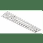 Luminaria-Comercial-2x16-18-20W-de-Embutir-Para-Fluorescente-Tubular-T8-T10