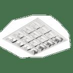 Luminaria-Comercial-4x16-18-20W-de-Embutir-Para-Fluorescente-Tubular-T8-T10