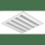 luminaria-comercial-4x14-24w-de-embutir-para-fluor-tubular-t5-c-lampada-e-reator-c83-tp