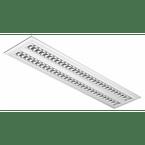 luminaria-comercial-2x28-54w-de-embutir-para-fluor-tubular-t5-vazia-e82-tp